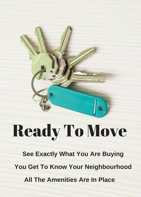 Upgrade Your Lifestyle.. Ready To Move : 3,4 BHK Apartments